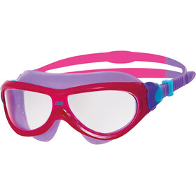 Zoggs Phantom Masker Jongeren, pink/purple/clear